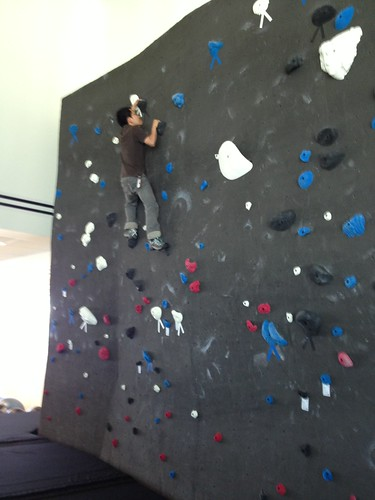 Casual climb with normal shoes 3/4