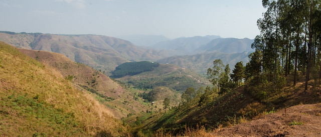 Burundi Border Mountains