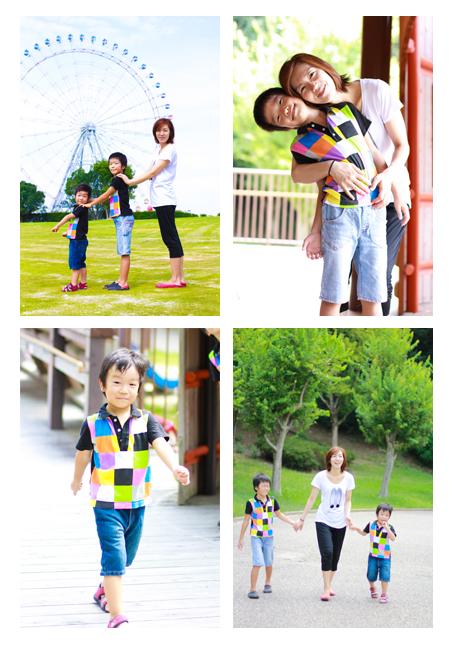 モリコロパーク 愛知県長久手市  家族写真 子供写真 キッズフォト 屋外撮影 公園 出張撮影