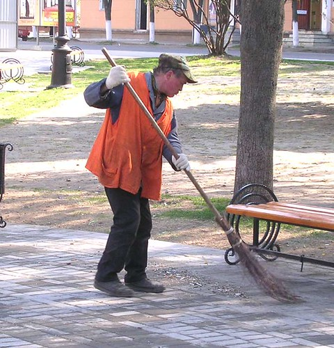 Russian Street Cleaner