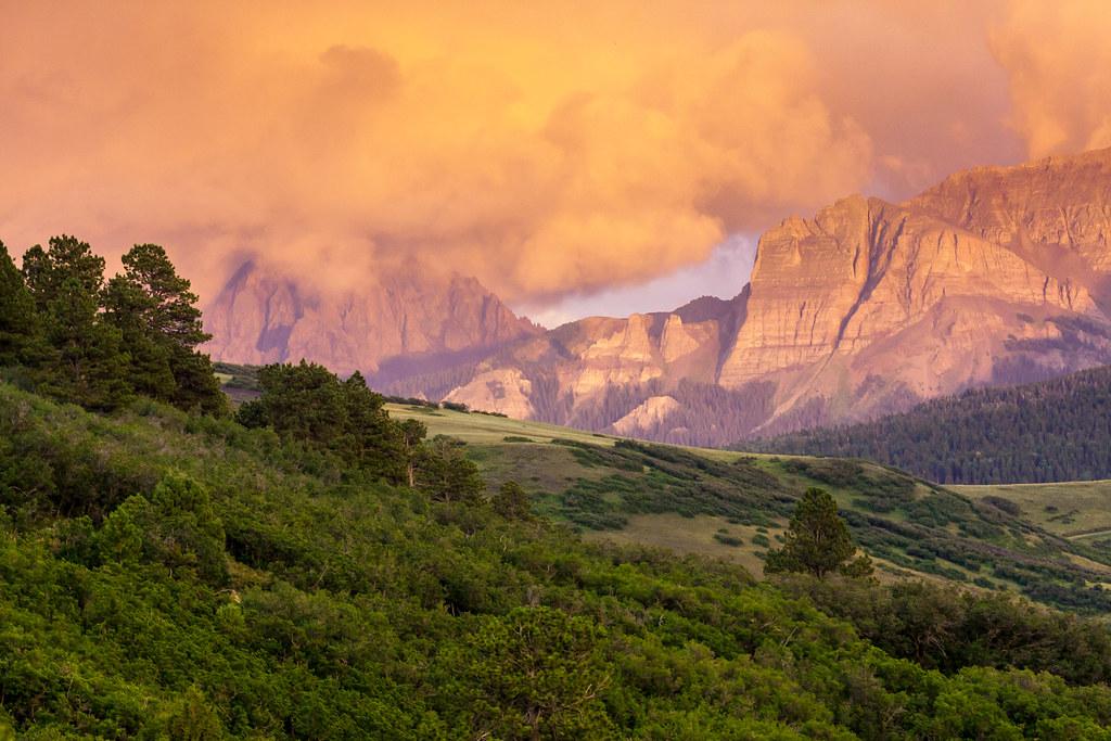 Mt. Sneffels Sunset