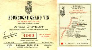 France - Côte d'Or 1969