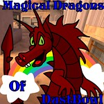 Magical Dragons Of Dust Bowl Logo