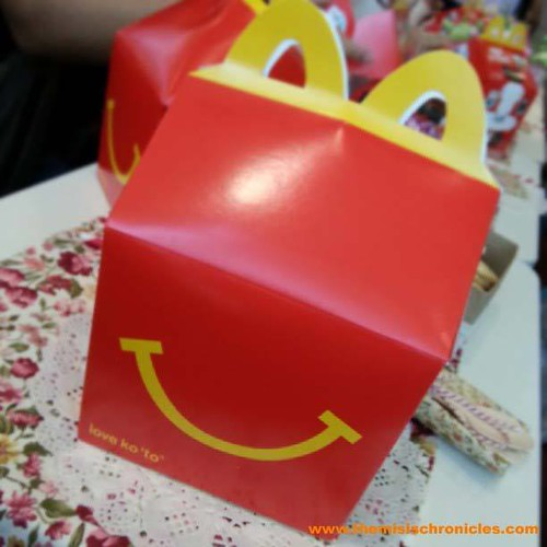 Bring home a smile with the McDonald's Happy Meal box
