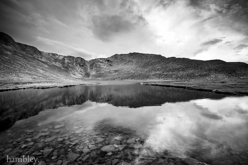 bw mountain lake water colorado mtevans d800