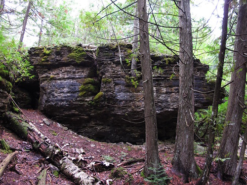 rock trail manitoulin fossilhill