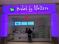 Baked by Melissa mini cupcakes now selling at JFK airport by Rachel from Cupcakes Take the Cake