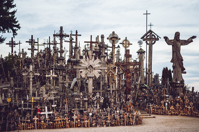 Kryžių kalnas | Hill of Crosses, Lithuania