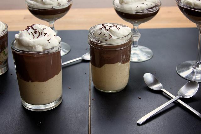 chocolate peanut butter chocolate pudding