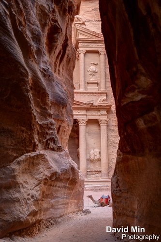 "Petra, Jordan - Al Khazneh (""The Treasury"") by GlobeTrotter 2000"