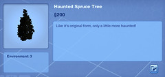 Haunted Spruce Tree