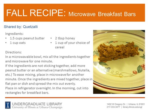 microwave breakfast bars recipe