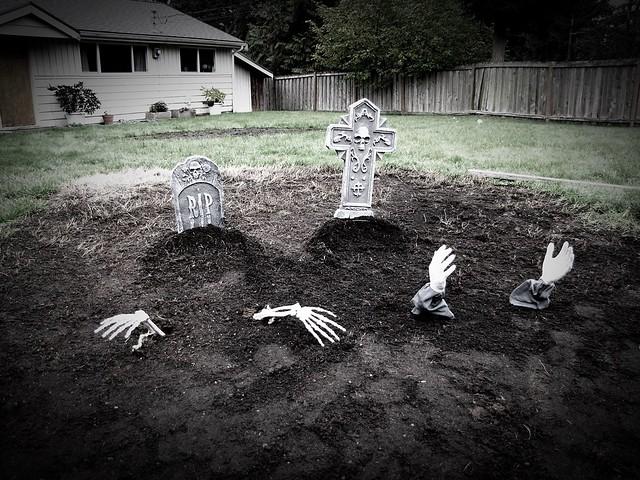 front yard graveyard