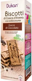 Biscotti di Crusca d'Avena con Gocce di Cioccolato
