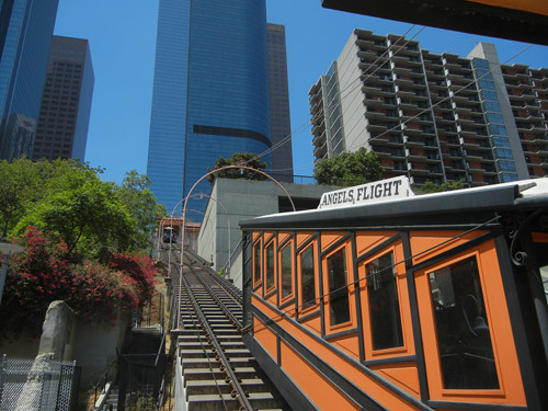 DSCN8815 _ Funicular Car, Downtown Los Angeles