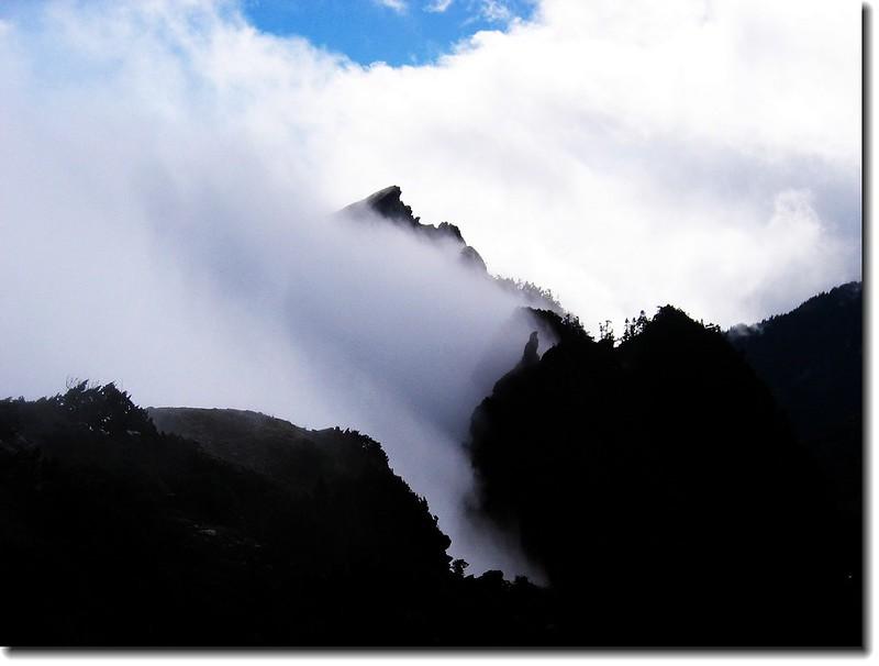 霧鎖鷹子嘴山 2