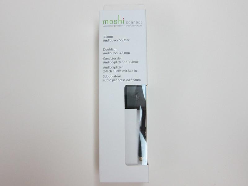 Moshi 3.5mm Audio Jack Splitter - Box Front