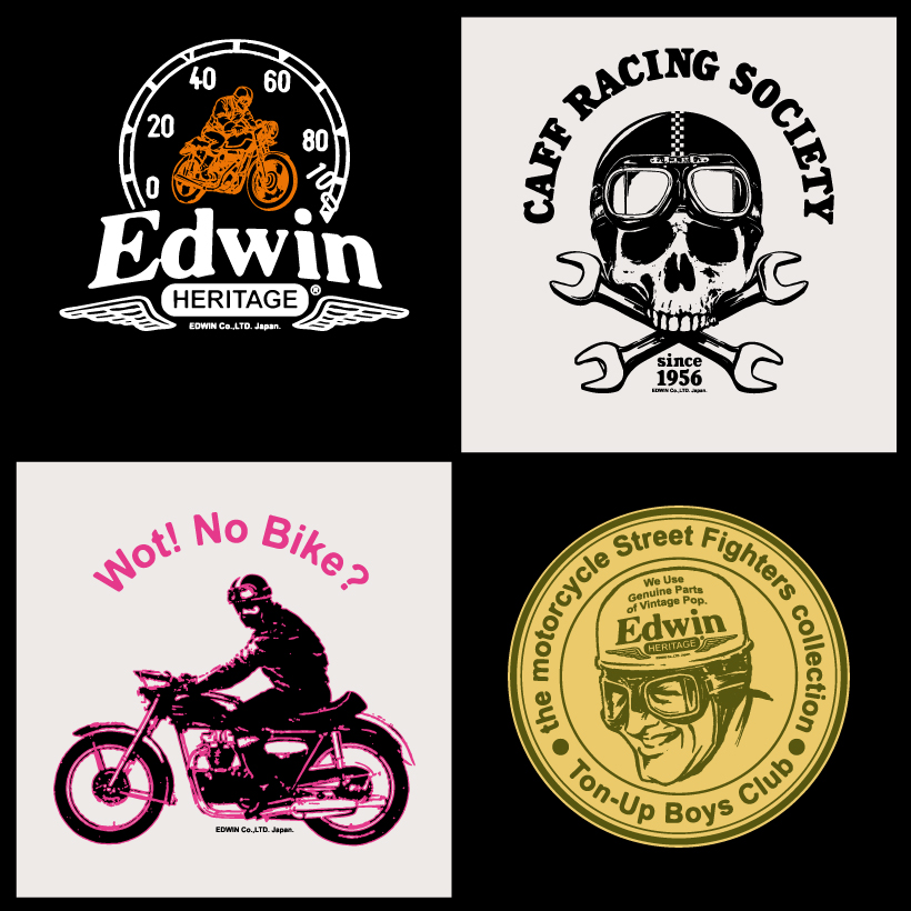 EDWIN BIKERS (commissioned work) 2006