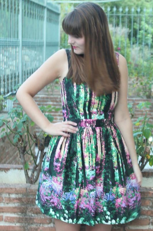 Primark dress, flip flops