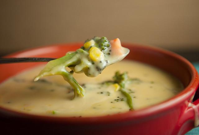 Creamy Cheesy Broccoli SoupIMG_7850