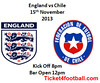 England Vs Chile Tickets