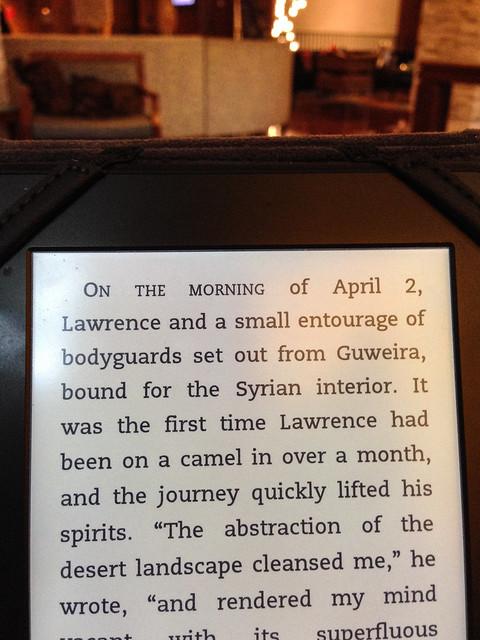 reading Lawrence in Arabia