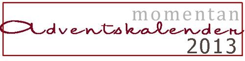 momentan Adventskalender 2013 banner