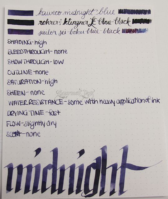 @Kaweco Blue-Black/Midnight Blue Ink @JetPens