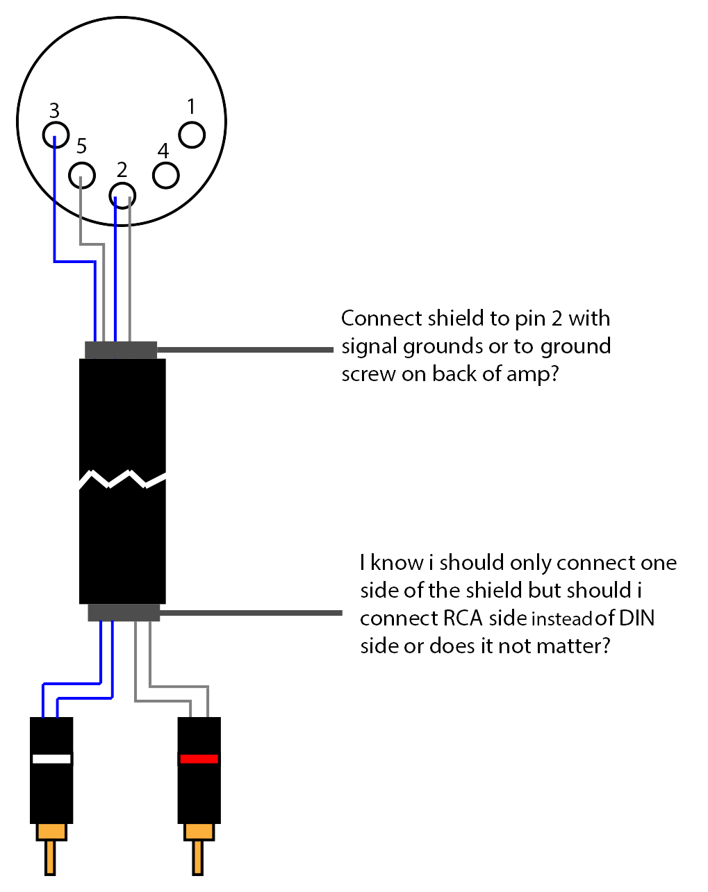 8 pin din connector wiring diagram