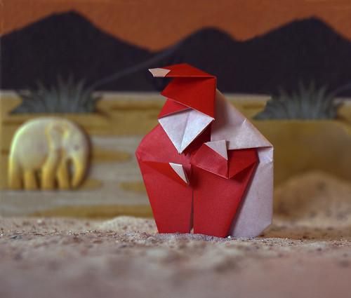 Origami Christmas Present (Seiji Nishikawa)