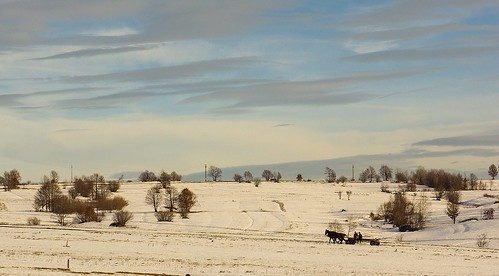 winter colors landscape country romania