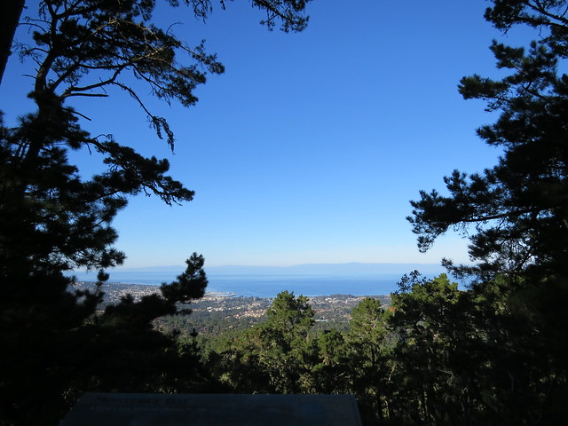View of Monterey Bay Jacks Peak County Park