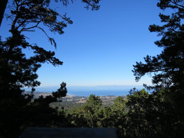View of Monterey Bay Jacks Peak County Park