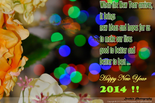 Happy New Year 2014 !!