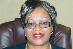 Mrs. Lynn Mukonoweshuro CEO of Kingdom Bank in Zimbabwe. She is featured in a story in the state-owned Herald. by Pan-African News Wire File Photos