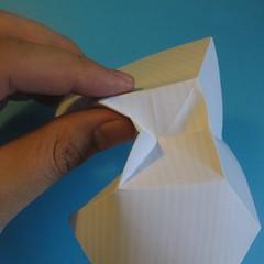 วิธีการพับกระดาษเป็นโบว์หูกระต่าย 008