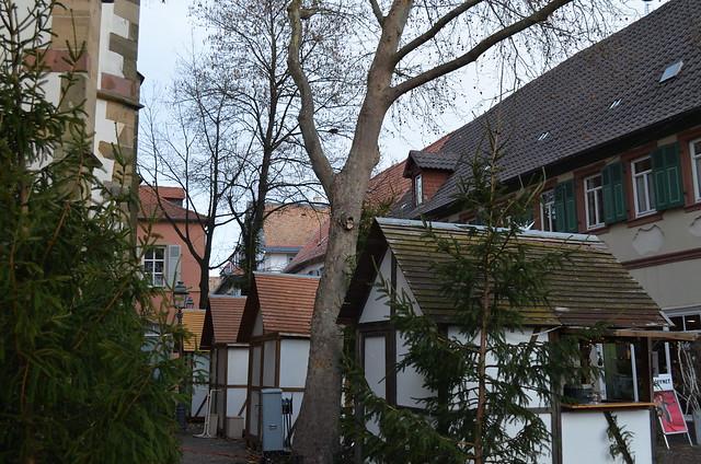 Weihnachtsmarkt Freinsheim stands