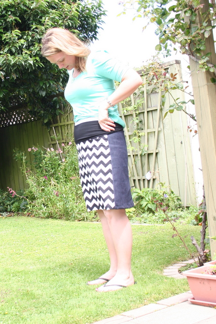 Cerisy maternity skirt