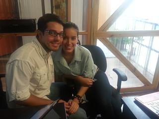Juan Lucas y Carolina