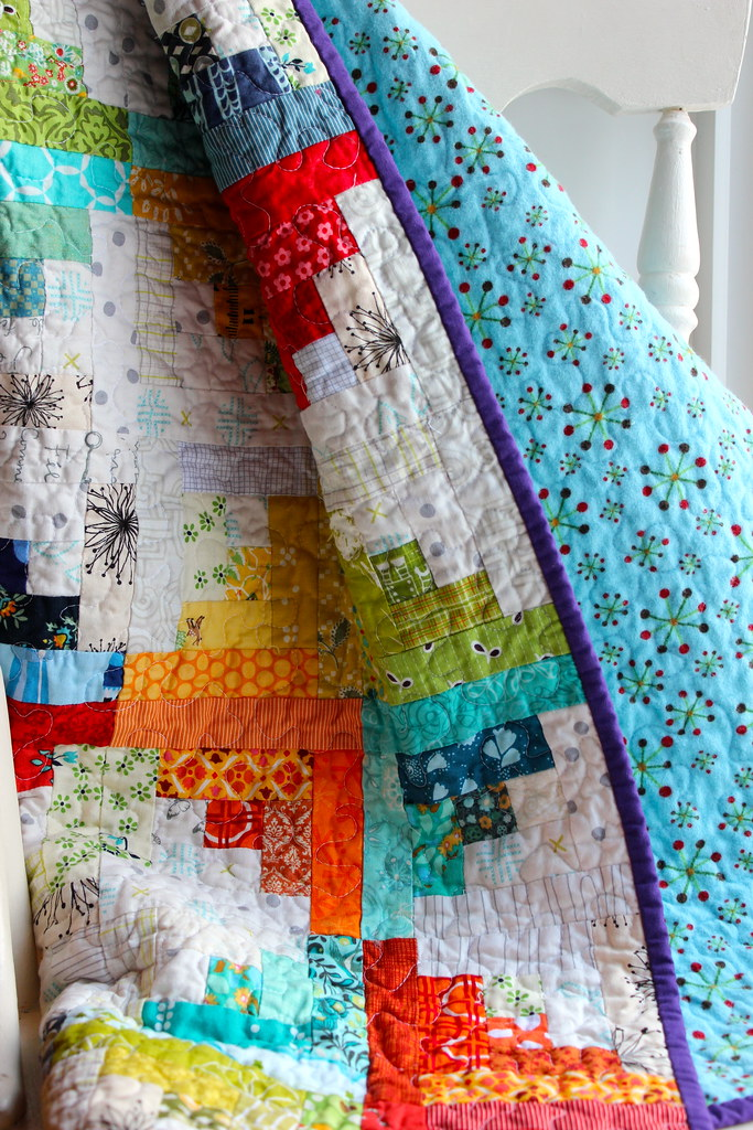 Sunshine and Showers Baby Quilt