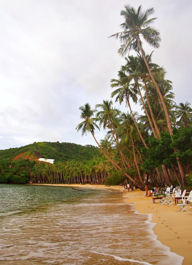 Corong-Corong beach El Nido Palawan
