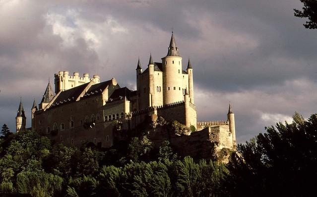 Spanien (1987)  Segovia, Alcazar , 71028/2743