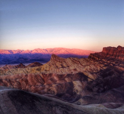 Elevation Of Sunset Campground Death Valley Ca Usa