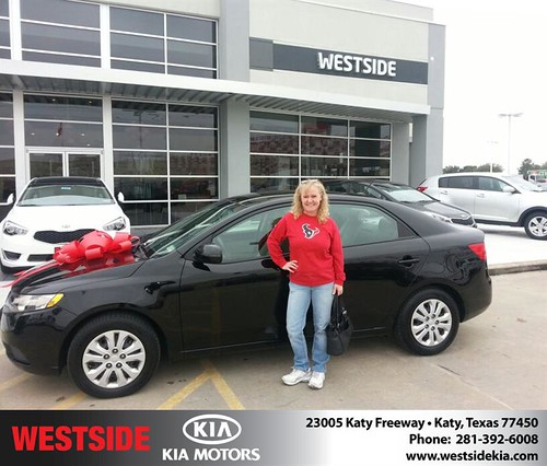 Thank you to Jeanne Van Craenenbro on your new 2012 #Kia #Forte from Rubel Chowdhury and everyone at Westside Kia! by Westside KIA