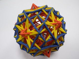 Distance sets 6,13,36 of the pentagonal hexecontahedron come to life
