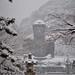 Japanese Daibutsu of Kamakura in a Rare Snowfall by Ronin Dave