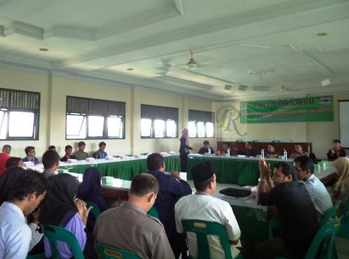 Sambut Pemilu, Mahasiswa Unimus Bireuen Gelar Diskusi Publik