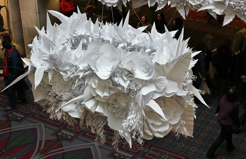 All things paper paper flowers at the philadelphia flower show paper flowers malinda swain mightylinksfo