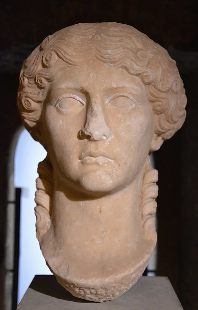 Portrait of Agrippina the Elder from Aeminium (Coimbra, Portugal), circa 40 AD, Machado de Castro National Museum, Coimbra, Portugal