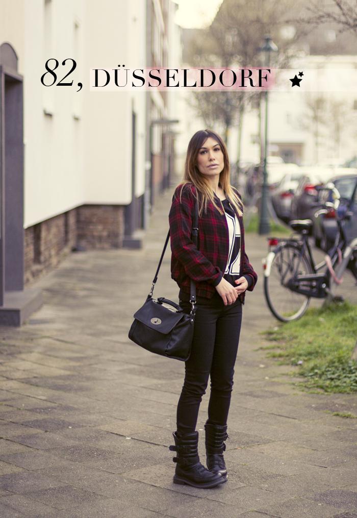 street style barbara crespo 82 düsseldorf germany C&A event outfit fashion blogger blog de moda